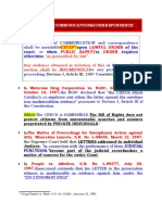 poli 17 PRIVACY of COMMUNICATION