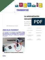 Transistor Electronico. Que Es, Funcionamiento, Tipos, Circuitos_