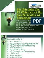 Bài Thảo Luận Các PP PT Và DB TT Và TM Nhóm 4