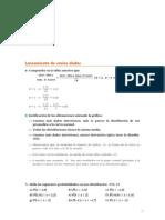 Matematicas Resueltos(Soluciones) Inferencia Estadística 2º Bachillerato Opción A