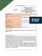 DIARIO DE CAMPO ABRIL