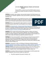 Denver Public Schools Gender-Neutral Bathrooms Resolution