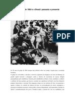 O golpe militar de 1964 e o Brasil