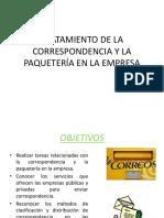 2. corespondencia y paqueteria