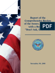 "DoD ""Don't Ask, Don't Tell"" Repeal Report, 30 November 2010"
