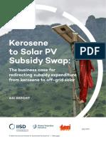 kerosene-solar-subsidy-swap