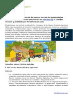 Cómo implementar un sistema de Buenas Prácticas Agrícolas. Manual en PDF
