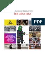 Ultranationalist Narrative of Online Groups in Georgia