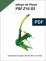 Catálogo de Peças JF92 Z10 S3. Colhedora de Forragens JF92 Z10 Serie 3 com Polia.pdf