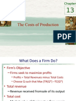 Mankiw - Costs of Production