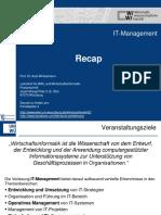 Zusammenfassung IT Management