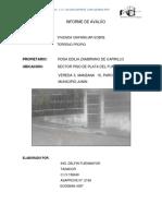 INFORME DE AVALÚO PSO PLATA
