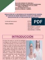 CANCER DE MAMA( PROYECTO)