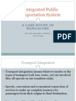 Integrated Public Transportation System