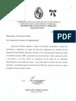 Comunicado Nº 3-Elecciòn Cargos d Direcciòn Al Amparo Art.56 Del EFD o Circ Nº 452