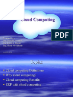 Cloud Computing Final