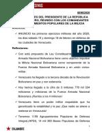 DECLARACIONES DEL PRESIDENTE DE LA REPÚBLICA NICOLAS MADURO DEL DÍA MIÉRCOLES 8-01-20.pdf