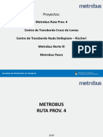 Proyectos Metrobus