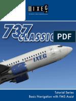 Tutorial Flight 1 - Basic FMS and navigation