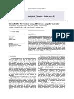 Contoh laporan praktikum kimia analisis