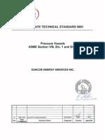 ASME Vessel Standard - Suncor