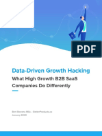 What High Growth B2B SaaS Companies Do Differently