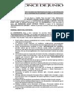 CONTRATO DE PRESTACIÓN DE SERVICIOS PROFESIONALES PARA LA RECUPERACIÓN JUDICIAL