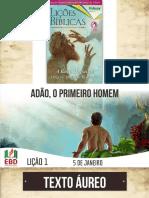 LIÇÃO 01 - ADULTOS