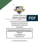 International Naval Technology Transfer