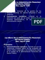Ley Marco De La Administración Financiera Del Sector Dec Leg 1436.ppt