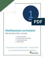 Plan de clase Primero de Primaria (Quechua)