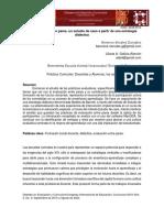 Evaluación entre pares, un estudio de caso a partir de una estrategia didáctica