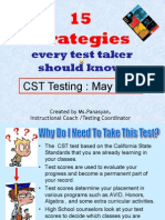 15 Test Taking Strategies FINAL REVISION - We Hope