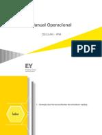Manual Operacional DECLAN_RJ V.1.0