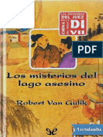 Los misterios del lago asesino - Robert van Gulik