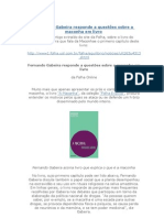 527438 Fernando Gabeira Responde a Questoes Sobre a Maconha Em Livro