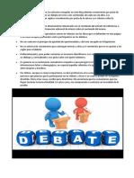 Reglas del debate