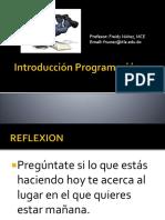 Int Programacion - 1 Teoria