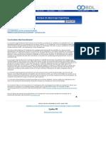 Banque de dépannage linguistique - Curriculum vitæ fonctionnel