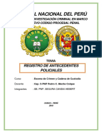 Monografia de Antecedentes Policiales