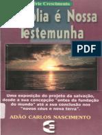 A Biblia e Nossa Testemumha Adao Carlos Nascimento PDF