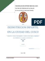 Monografia de Desnutricion en Cusco