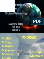 Presentation on Global Warming