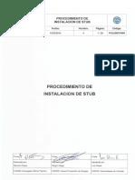 POL025CIV006 - Instalacion de Stub - Rev.4
