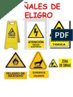 señales peligro