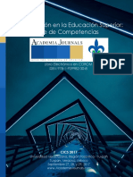 Investigación en la Educación Superior Eje de Competencias Tomo 00 - 2017 - Portada e Índice.pdf