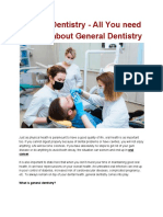 General Dentistry | Cosmetic Dentistry – Oral Health