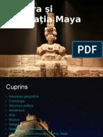 Cultura Si Civilizatia Maya