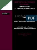 Tratados internacionales en lo que participa México