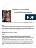 A CONTRIBUIÇÃO DO ESTÁGIO SUPERVISIONADO PARA O CURSO DE PEDAGOGIA - Portal Educação